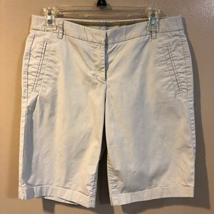 🔴 J Crew Khaki Bermuda Shorts - Size 6